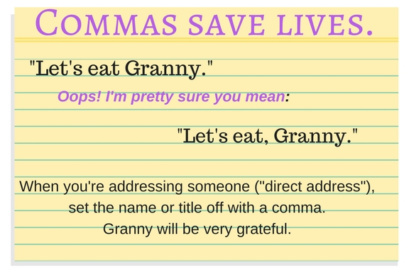 comma in or out of quotes